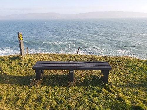 Seat looking towards Bere Island
